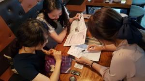 인천공항중,  1학기 교육공동체 토론 및 연수 실시